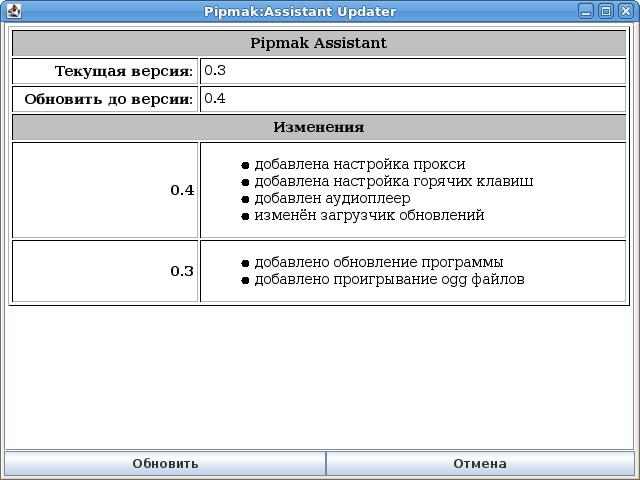 Pipmak Assistant